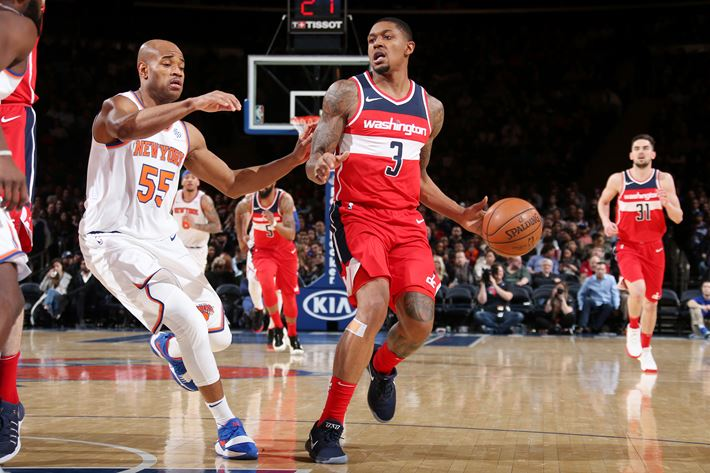 Image result for wizards vs knicks